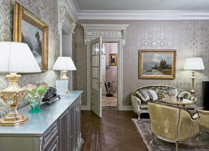 Дизайн небольшой квартиры классический фото
