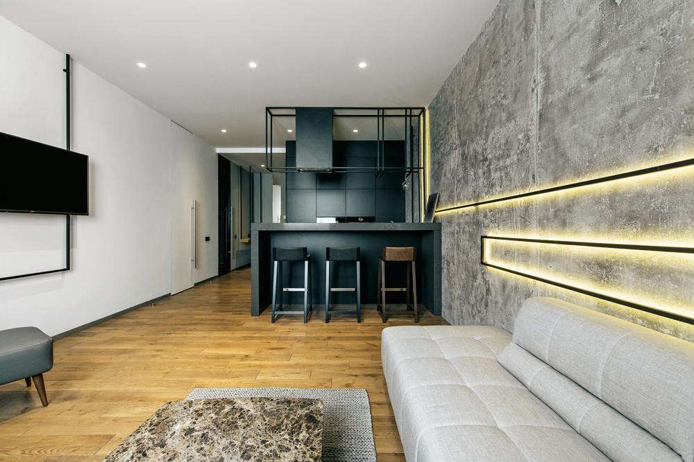 бетон минимализм