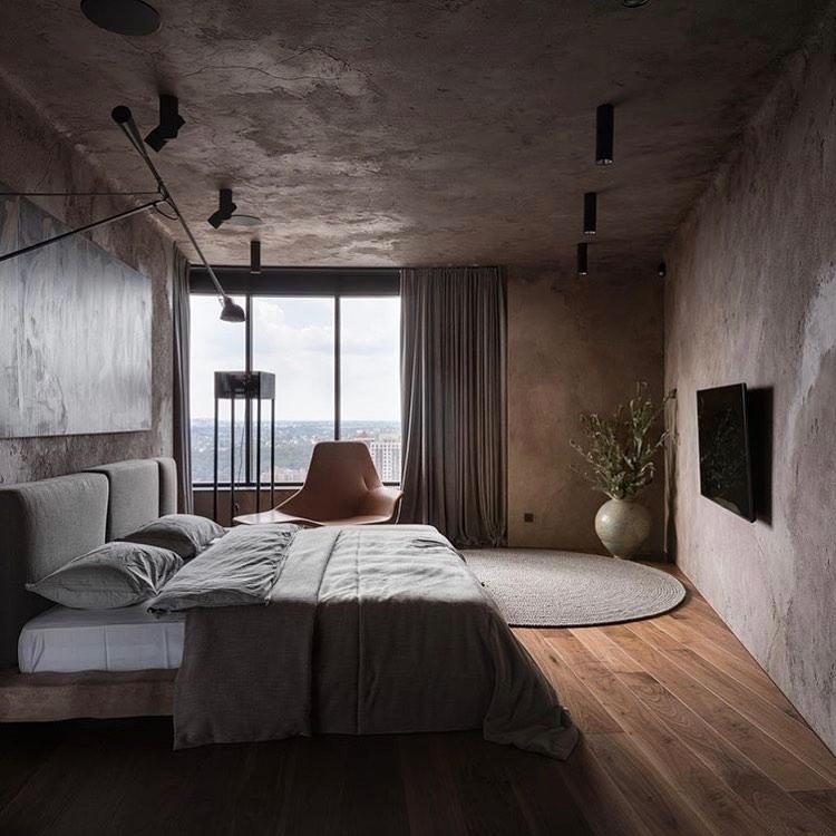 Дизайн спальни в стиле лофт: 40+ лучших примеров и советы по оформлению