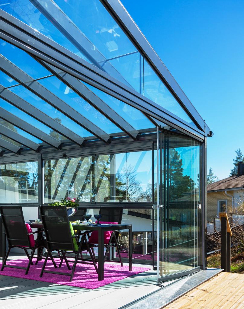 стеклянные крыши веранды и террасы фото балкеры