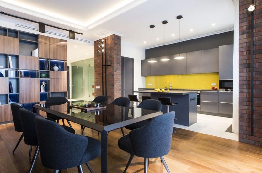 Какую плитку выбрать в кухню на пол: 40+ фотоидей для вашего интерьера