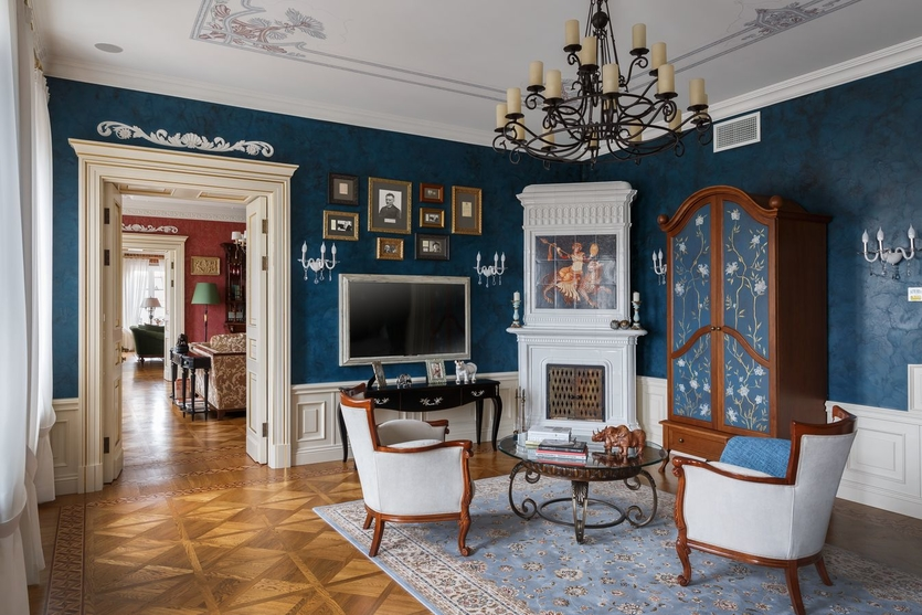 Интерьер гостиной в классическом стиле: от А до Я. 120 фото с комментариями и советами от профессионалов