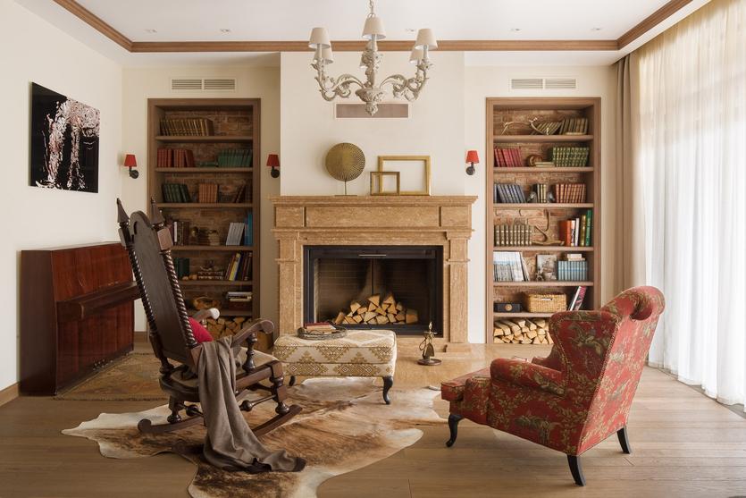 Стенка в гостиную в современном стиле | 557x835