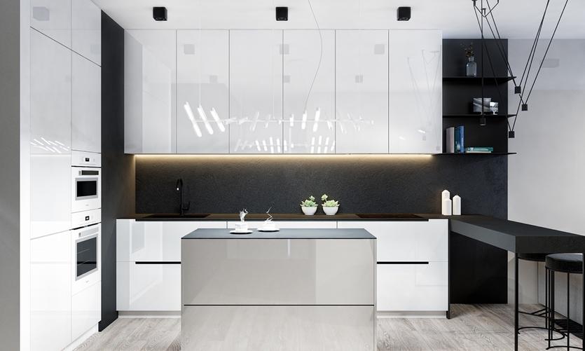 причиной смерти дизайн кухонного гарнитура белый глянец фото законное