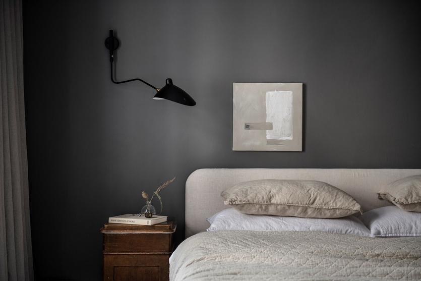 Дизайн спальни в серых тонах: фото, модные сочетания, решения от профи