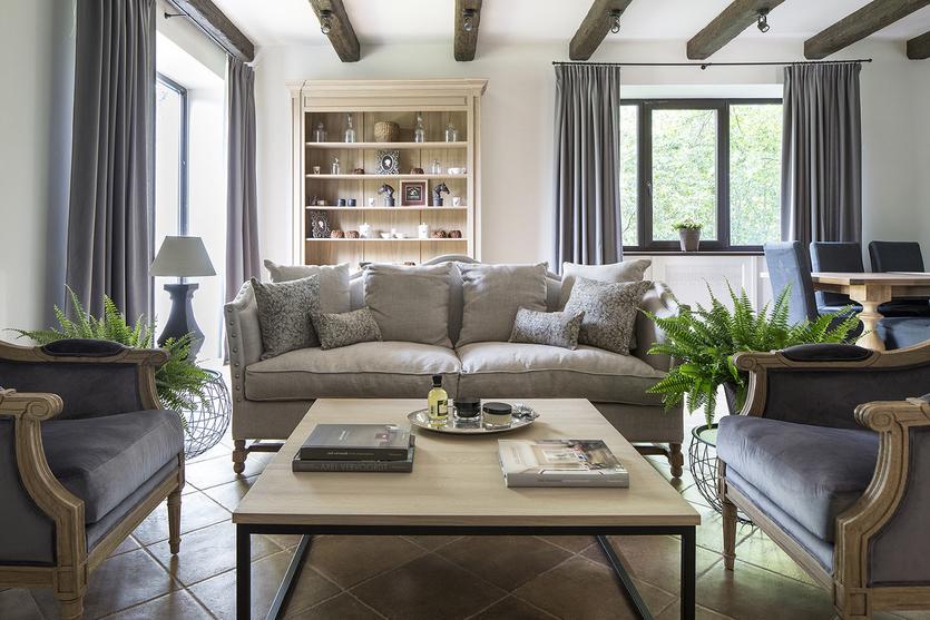 Стиль прованс в интерьере загородного дома: 20+ советов, 50 фото