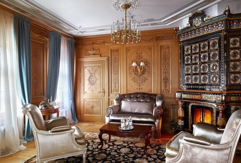 Камин в интерьере частного дома: лучшие дизайн-идеи + фото