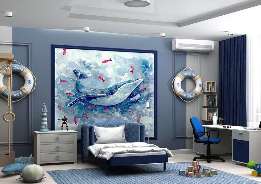 картинки комнат в морском стиле гетце
