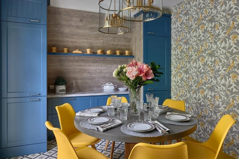 Как сочетать цвета в интерьере кухни: правила, идеи и примеры
