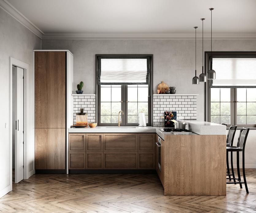 Дизайн штор для кухни-2020: советы по выбору и яркие тренды
