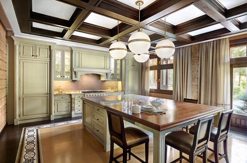 Идеи дизайна кухни в деревянном доме: советы и реальные примеры