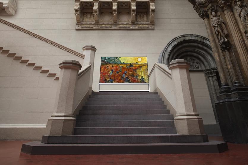 Запущен проект «LG Signature X Пушкинский музей»